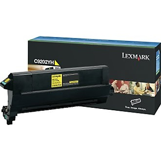 C9202YH Toner Cartridge - Lexmark Genuine OEM (Yellow)