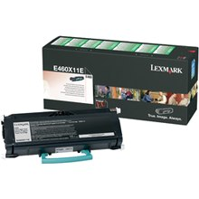 E460X11A Toner Cartridge - Lexmark Genuine OEM (Black)