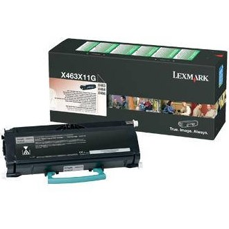 X463X11G Toner Cartridge - Lexmark Genuine OEM (Black)