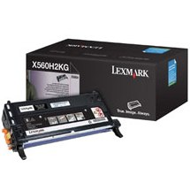 X560H2KG Toner Cartridge - Lexmark Genuine OEM (Black)