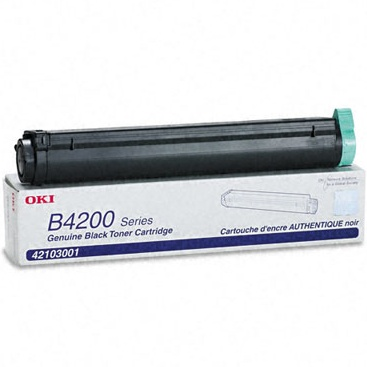 42103001 Toner Cartridge - Okidata Genuine OEM (Black)