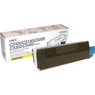 42804501 Toner Cartridge - Okidata Genuine OEM (Yellow)