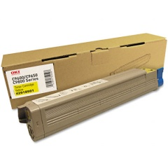 42918981 Toner Cartridge - Okidata Genuine OEM (Yellow)