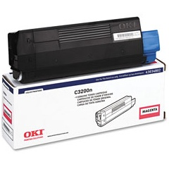 43034802 Toner Cartridge - Okidata Genuine OEM (Magenta)