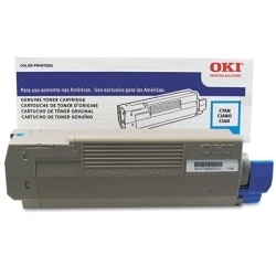 43324476 Toner Cartridge - Okidata Genuine OEM (Cyan)