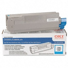 43381903 Toner Cartridge - Okidata Genuine OEM (Cyan)