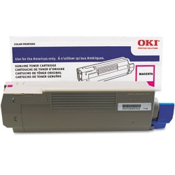 43837126 Toner Cartridge - Okidata Genuine OEM (Magenta)