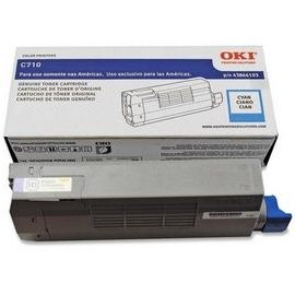 43866103 Toner Cartridge - Okidata Genuine OEM (Cyan)