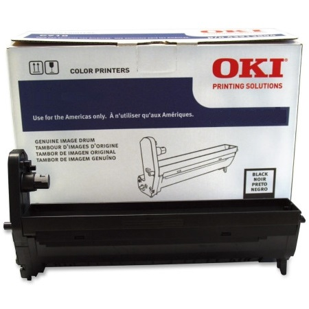 43913836 Drum Unit - Okidata Genuine OEM (Black)