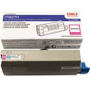 44318602 Toner Cartridge - Okidata Genuine OEM (Magenta)