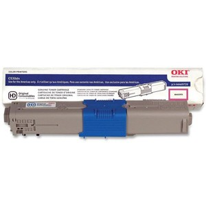 44469720 Toner Cartridge - Okidata Genuine OEM (Magenta)