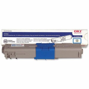 44469721 Toner Cartridge - Okidata Genuine OEM (Cyan)