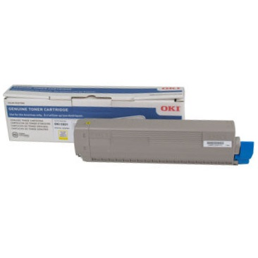44844509 Toner Cartridge - Okidata Genuine OEM (Yellow)
