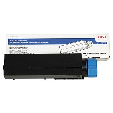 44917601 Toner Cartridge - Okidata Genuine OEM (Black)