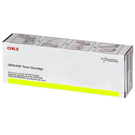 45643505 Toner Cartridge - Okidata Genuine OEM (Yellow)