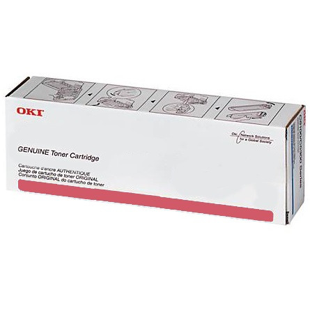 45643506 Toner Cartridge - Okidata Genuine OEM (Magenta)