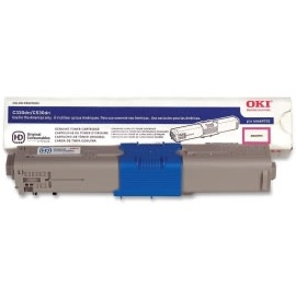 46490502 Toner Cartridge - Okidata Genuine OEM (Magenta)