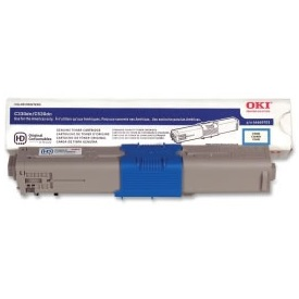46490603 Toner Cartridge - Okidata Genuine OEM (Cyan)