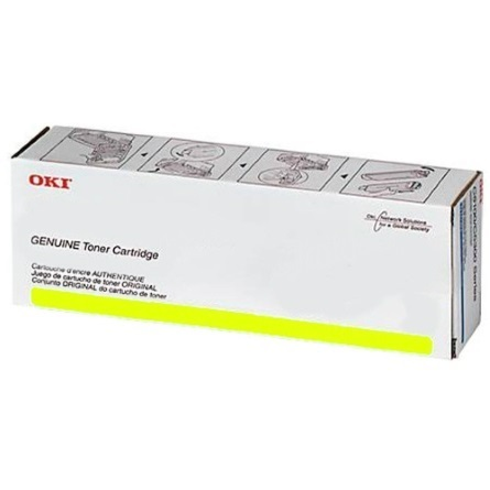 46490617 Toner Cartridge - Okidata Genuine OEM (Yellow)