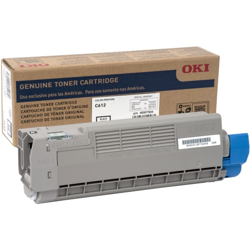 46507504 Toner Cartridge - Okidata Genuine OEM (Black)