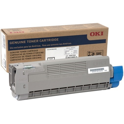 46507608 Toner Cartridge - Okidata Genuine OEM (Black)