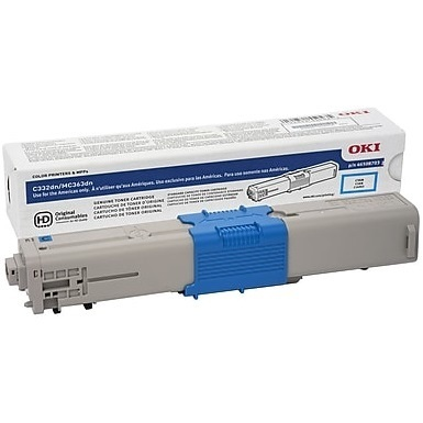 46508707 Toner Cartridge - Okidata Genuine OEM (Cyan)