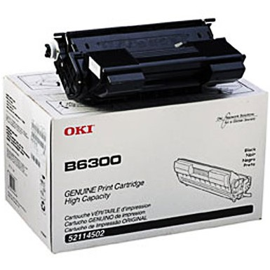 52114502 Toner Cartridge - Okidata Genuine OEM (Black)