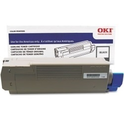 52123704 Toner Cartridge - Okidata Genuine OEM (Black)