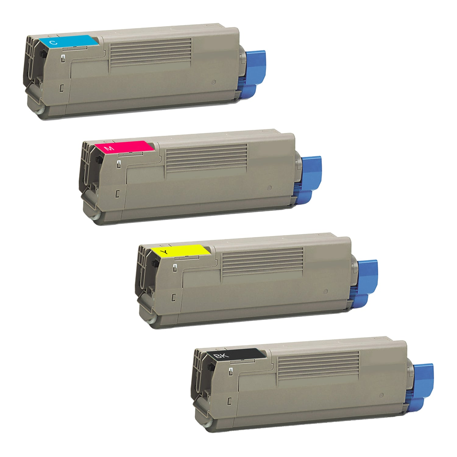 Compatible Okidata C5650 Toner High Capacity Pack - 4 Cartridges
