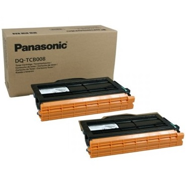 DQ-TCB008-D Toner Cartridge - Panasonic Genuine OEM (Multipack)