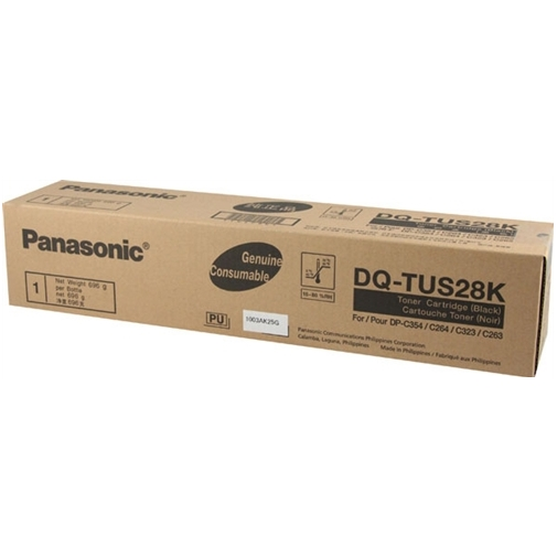DQ-TUS28K Toner Cartridge - Panasonic Genuine OEM (Black)