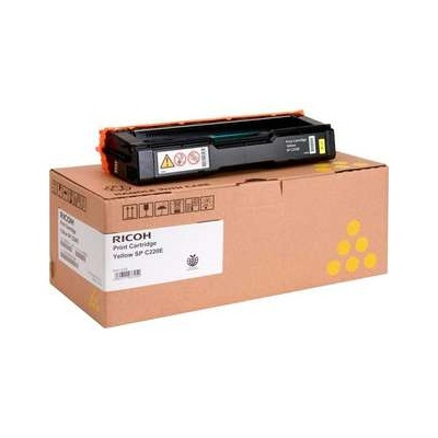 Ricoh 406044 Toner Cartridge - Ricoh Genuine OEM (Yellow)