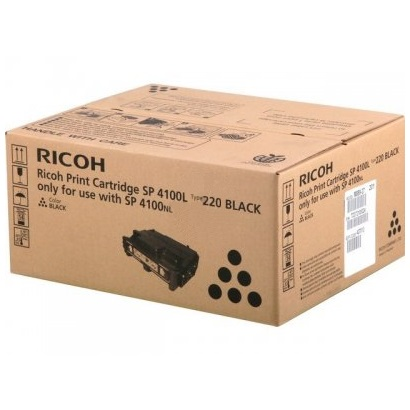 Ricoh 407010 Toner Cartridge - Ricoh Genuine OEM (Black)