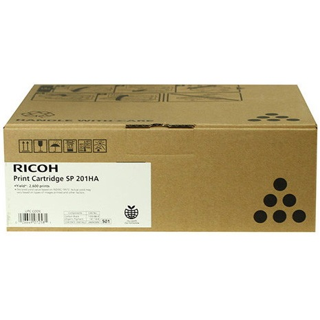 Ricoh 407258 Toner Cartridge - Ricoh Genuine OEM (Black)