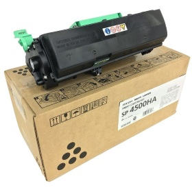 Ricoh 407319 Toner Cartridge - Ricoh Genuine OEM (Black)