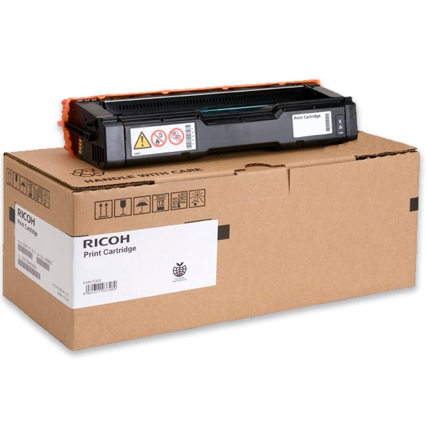Ricoh 407656 Toner Cartridge - Ricoh Genuine OEM (Yellow)