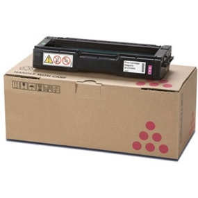 Ricoh 407897 Toner Cartridge - Ricoh Genuine OEM (Magenta)
