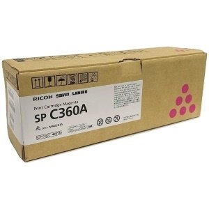 Ricoh 408182 Toner Cartridge - Ricoh Genuine OEM (Magenta)