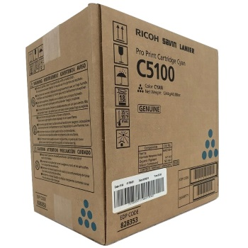 Ricoh 828353 Toner Cartridge - Ricoh Genuine OEM (Cyan)