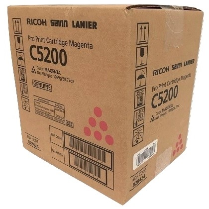 Ricoh 828424 Toner Cartridge - Ricoh Genuine OEM (Magenta)