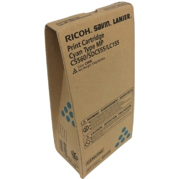Ricoh 841336 Toner Cartridge - Ricoh Genuine OEM (Cyan)