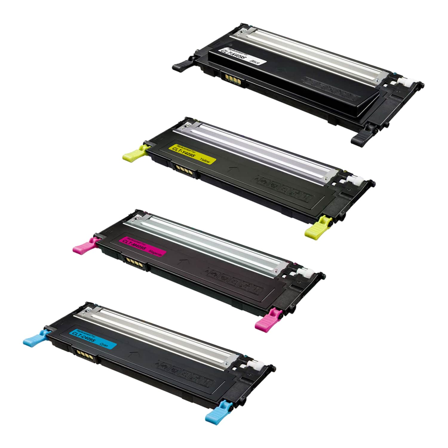 Remanufactured Samsung 409S Toner Pack - 4 Cartridges