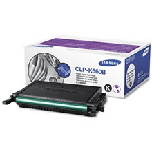 CLP-K660B Toner Cartridge - Samsung Genuine OEM (Black)
