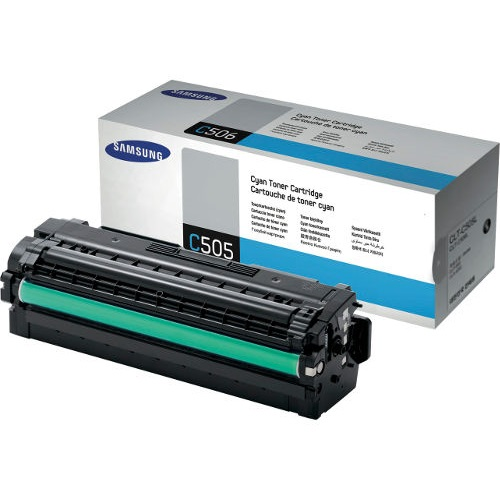 CLT-C505L Toner Cartridge - Samsung Genuine OEM (Cyan)