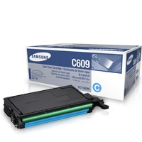 CLT-C609S Toner Cartridge - Samsung Genuine OEM (Cyan)