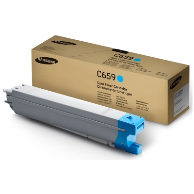 CLT-C659S Toner Cartridge - Samsung Genuine OEM (Cyan)