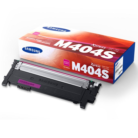 CLT-M404S Toner Cartridge - Samsung Genuine OEM (Magenta)