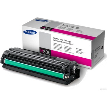 CLT-M506S Toner Cartridge - Samsung Genuine OEM (Magenta)