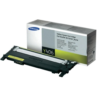 CLT-Y406S Toner Cartridge - Samsung Genuine OEM (Yellow)