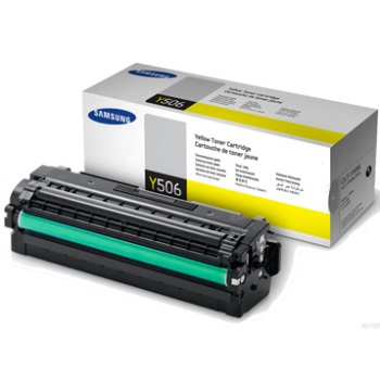 CLT-Y506L Toner Cartridge - Samsung Genuine OEM (Yellow)